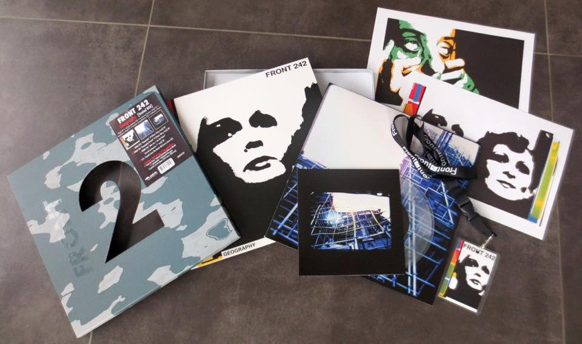Front 242 sees'Geography' super deluxe boxset released next to other vinyl versions
