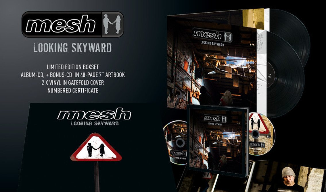 No less than 4 formats available for new Mesh album'Looking skyward'