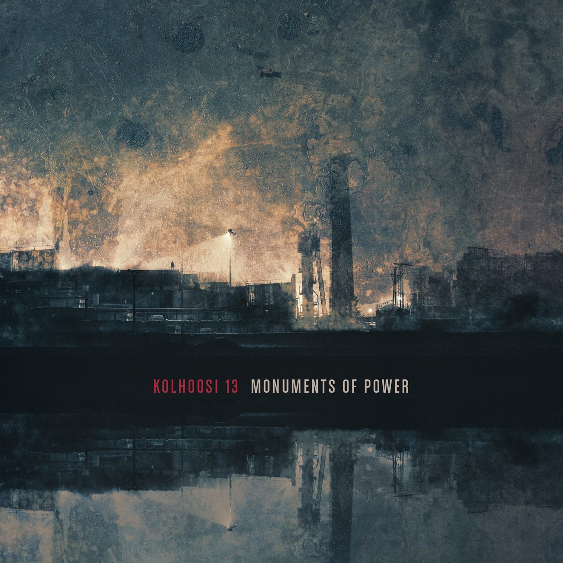 New album by the Finnish duo Kolhoosi 13, 'Monuments of Power', available now for pre-order at Cryo Chamber