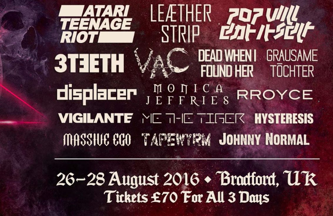 Side-Line presents Infest 26-28/08 feat. 3Teeth, Dead When I Found Her, Leaether Strip, ...