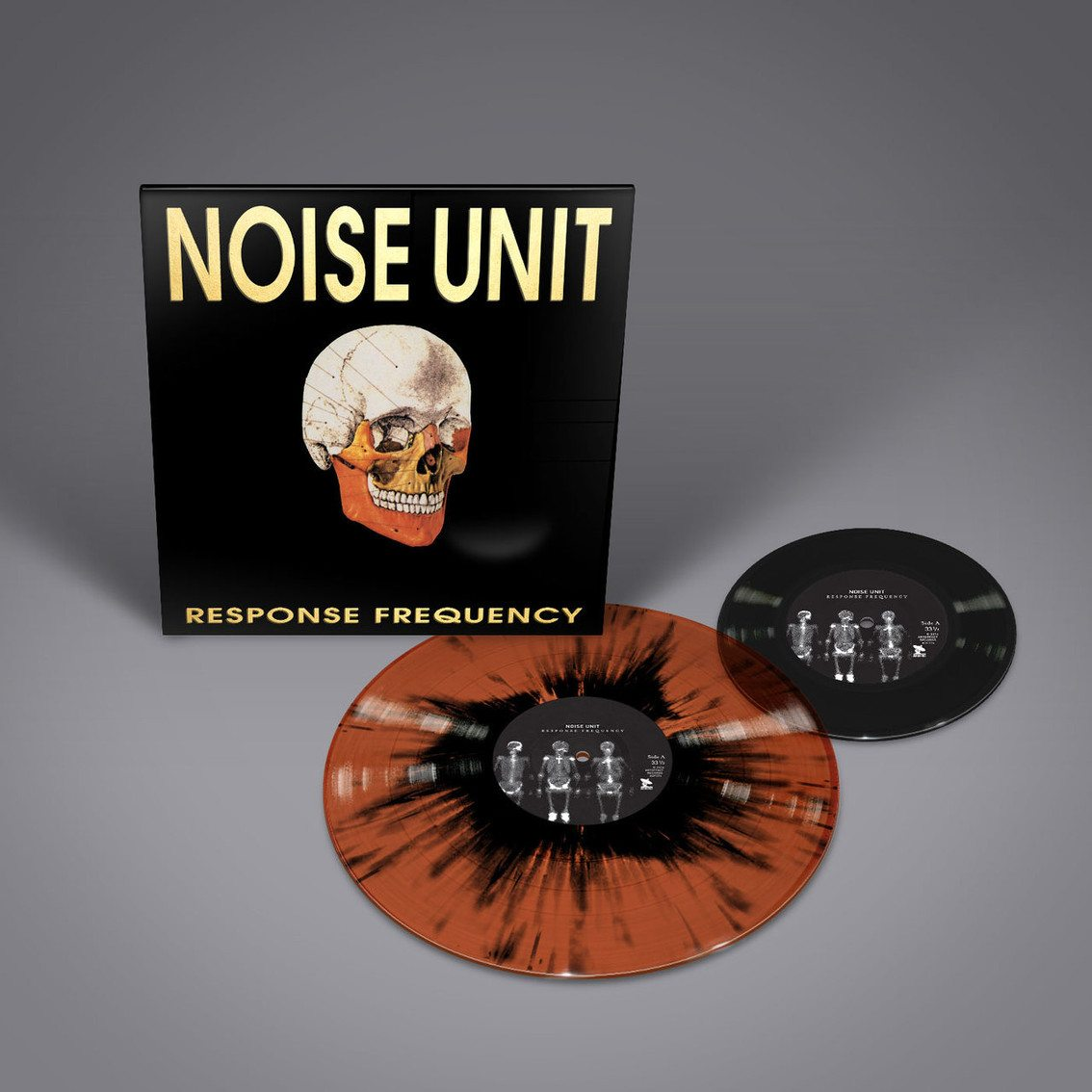 3 new Noise Unit to be re-released as deluxe vinyl sets - full order info