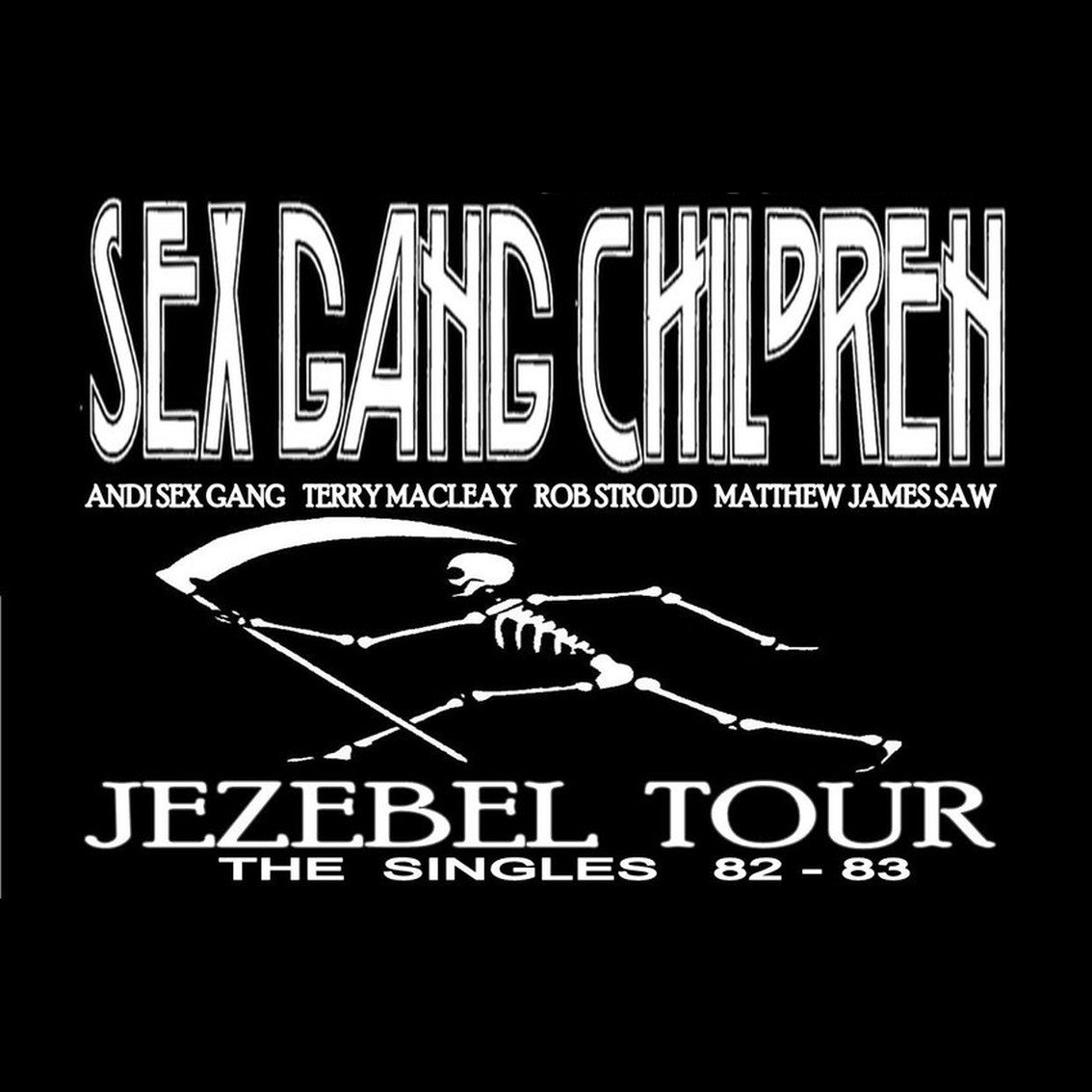 Sex Gang Children announces'The Jezebel Singles Tour 2016'