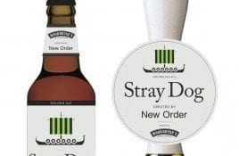 New Order launches 'Stray Dog' beer, named after a track on the band's most recent album 'Music Complete'