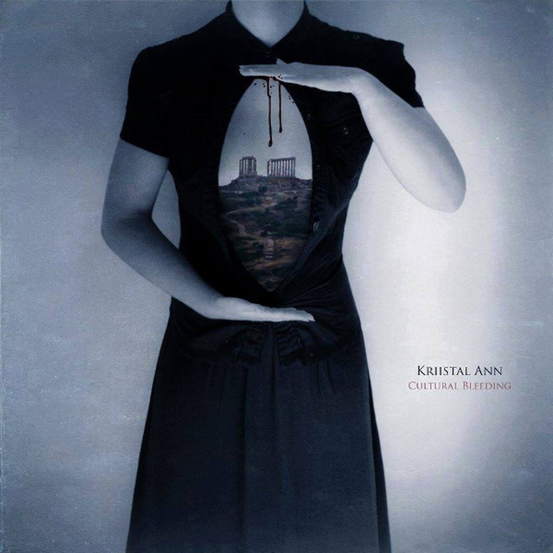 Minimal synth artist Kriistal Ann reissues splendid'Cultural Bleeding' on vinyl in October - a must-have !