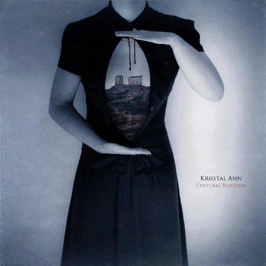 Minimal synth artist Kriistal Ann reissues splendid 'Cultural Bleeding' on vinyl in October - a must-have !