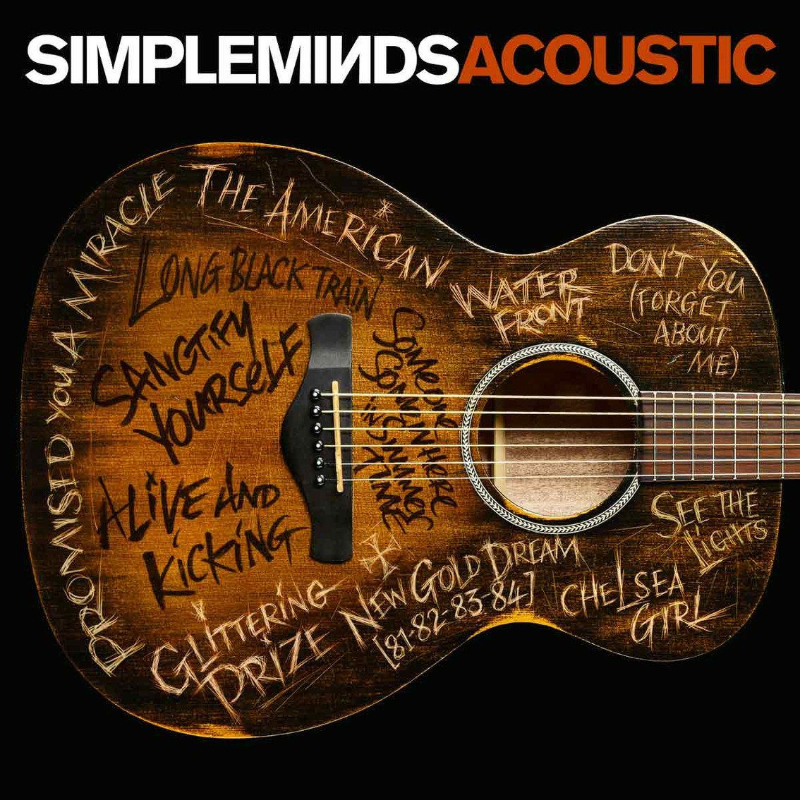 Simple Minds to release'Simple Minds Acoustic' in November