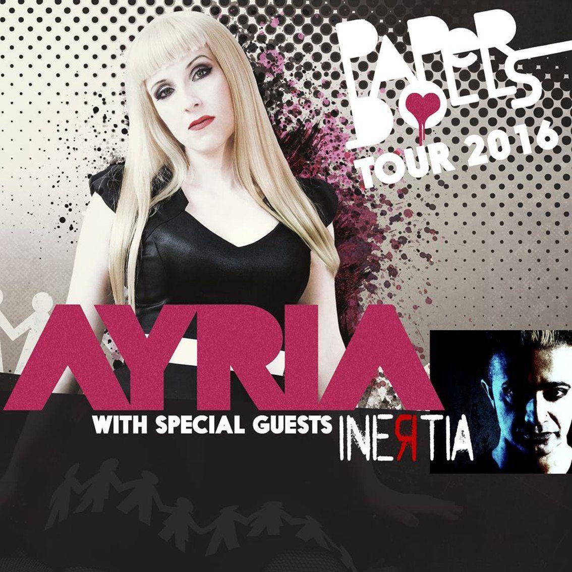 Ayria & Inertia poster