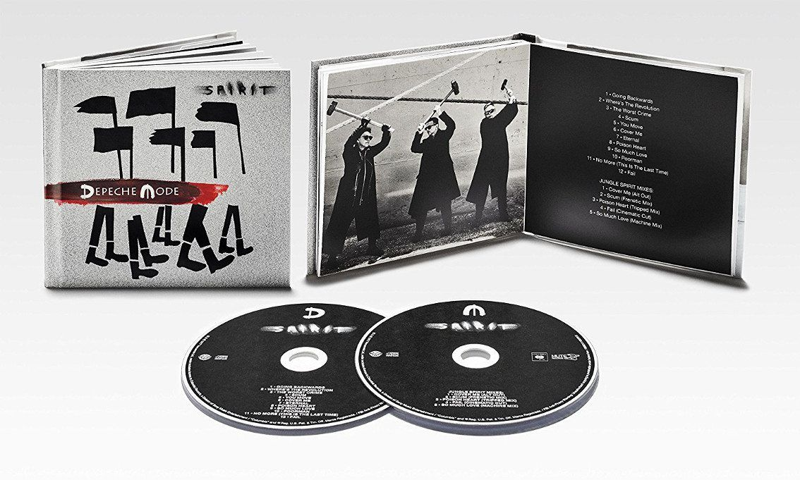 Depeche Mode play'Spirit' album teaser single during press event in Milan, Italy + stupid fan / press questions included
