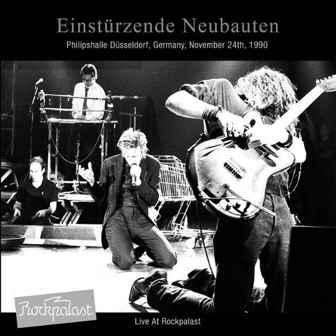 Einsturzende Neubauten finally releases'Live at Rockpalast' 1990 live album as deluxe 2LP set - order here