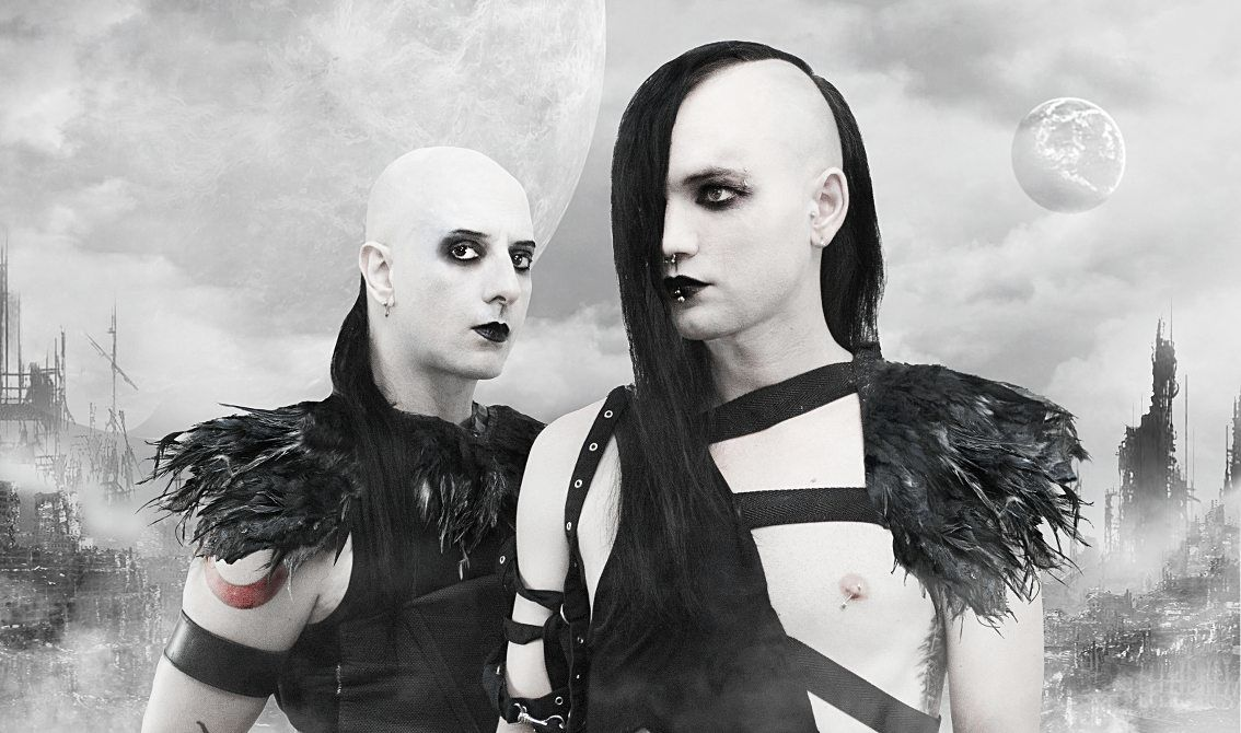 Greek cult dark electro duo Siva Six finally returns with a full album! Listen to the first tracks from 'Dawn Of Days' - pre-orders available now on CD and as HQ audio download