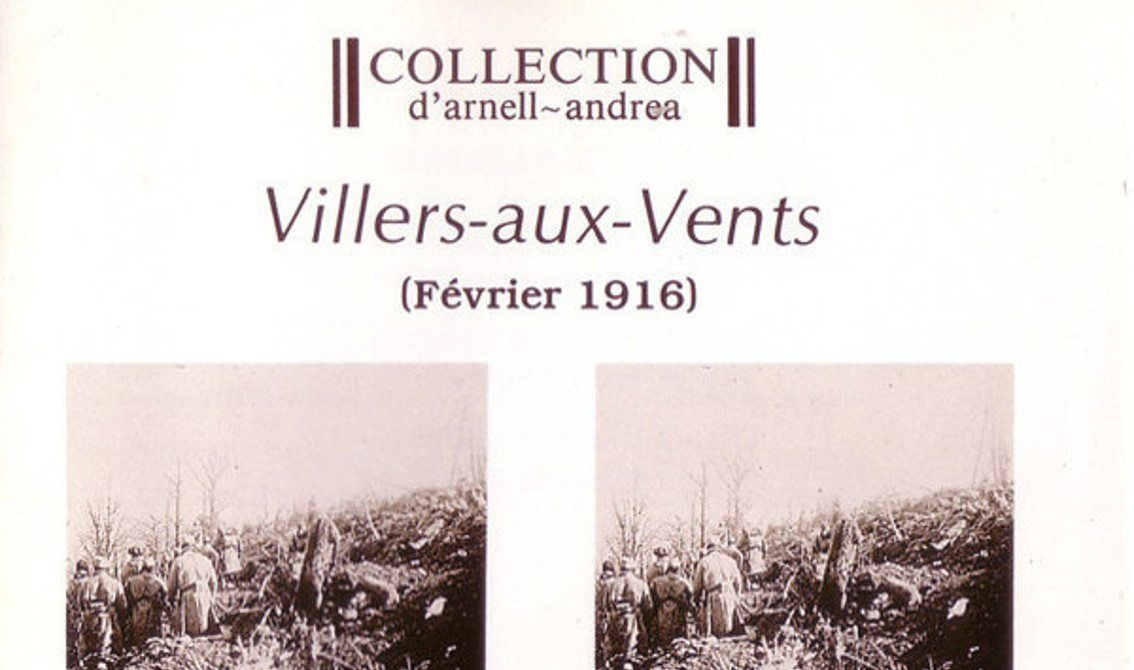 Collection d'Arnell-Andréa's breakthrough album'Villers-aux-Vents' finally gets a white vinyl treatment - orders accepted now