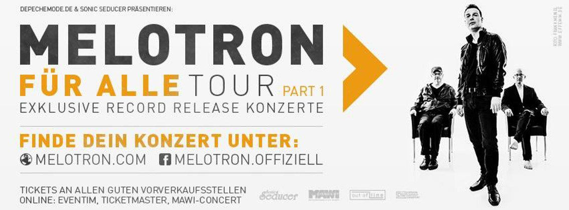 Melotron present new album live, several months before its official release