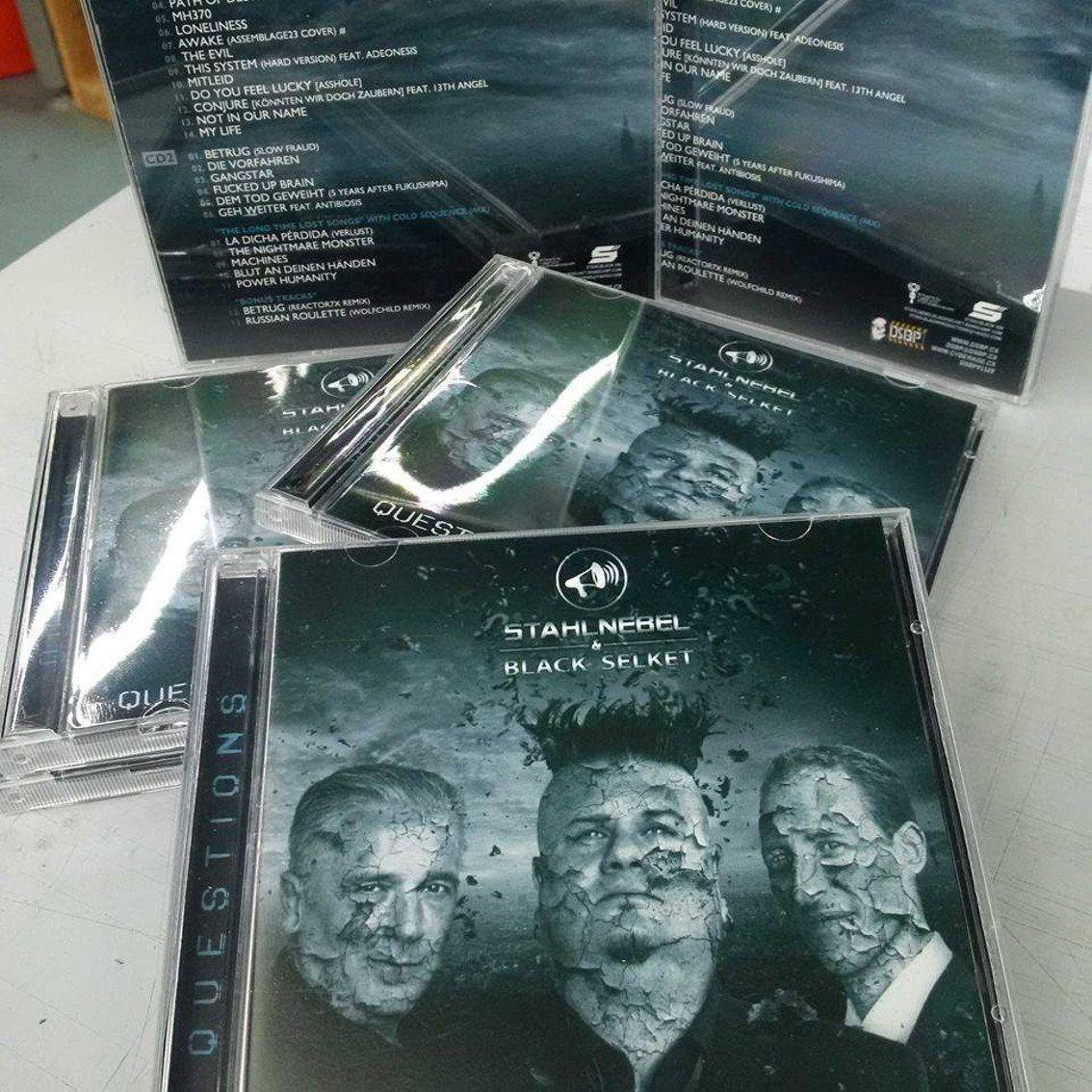 Stahlnebel & Black Selket offer new'Questions' album as double CD set - listen to the teaser
