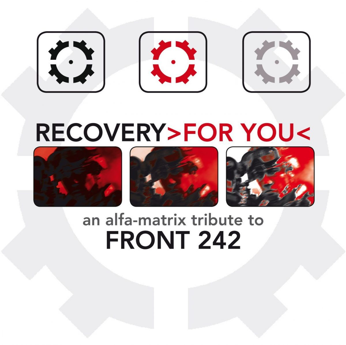 Stream the Front 242 tribute'Recovery >for you<' right now from Side-Line : 32-tracks by Front 242's label mates on Alfa Matrix