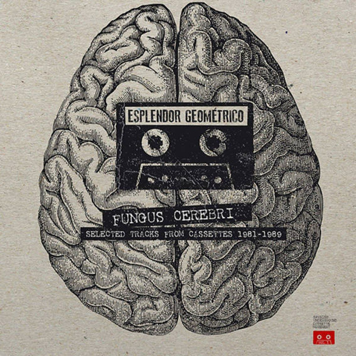 Esplendor Geométrico sees 80s tape material released on double vinyl LO:'Fungus Cerebri (Selected Tracks From Cassettes 1981-1989)'