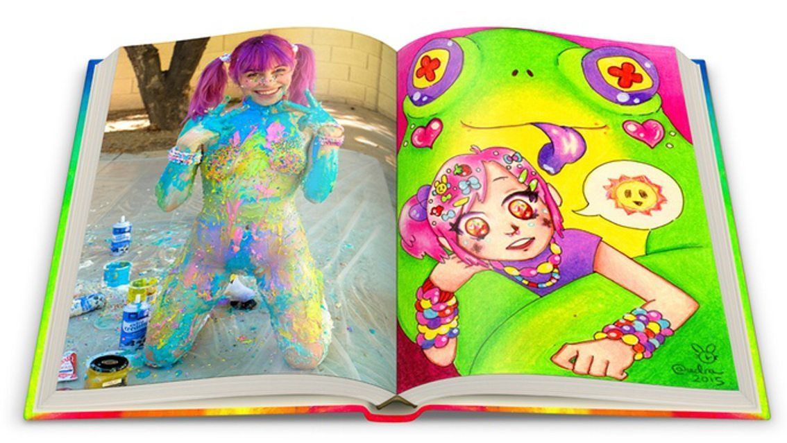 Final hours on Kickstarter for the 'Ultra Happy Alarm' coffee table book by Audra - get yours now and get a free Heaven Pegasus as an extra