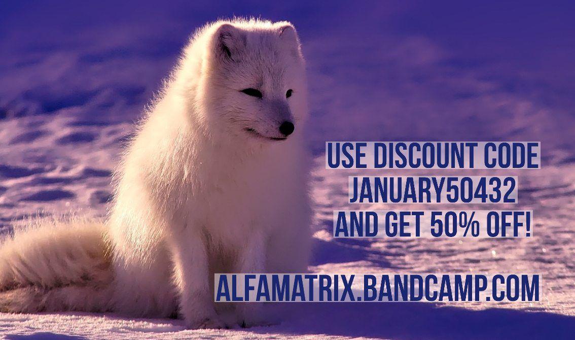 Alfa Matrix launches massive sale action on Bandcamp: 50% off !