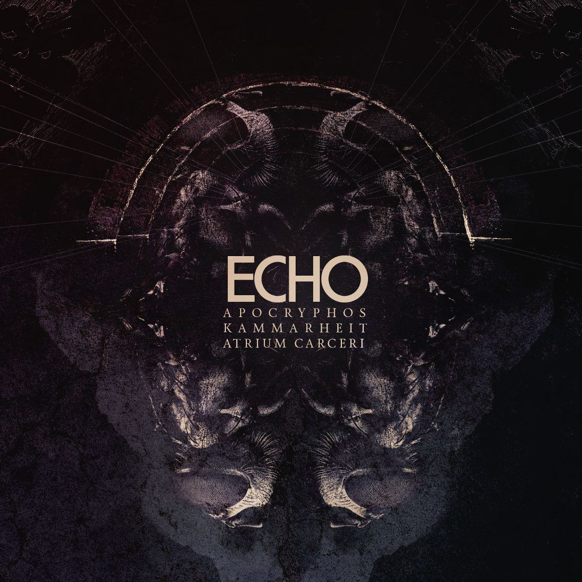 Apocryphos, Kammarheit, Atrium Carceri reunite for'Echo' album - listen to first 2 tracks !