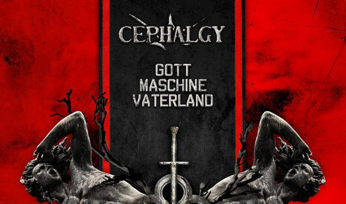 Cephalgy launches'Gott Maschine Vaterland' in a few weeks from now - listen to a first track!