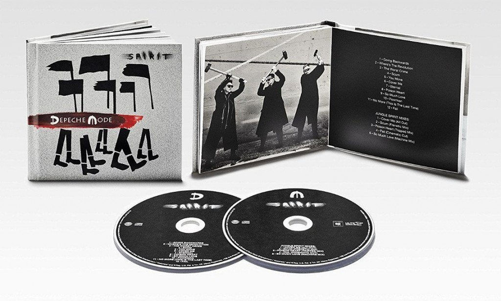 New Depeche Mode album'Spirit' available as 2CD set - order yours here