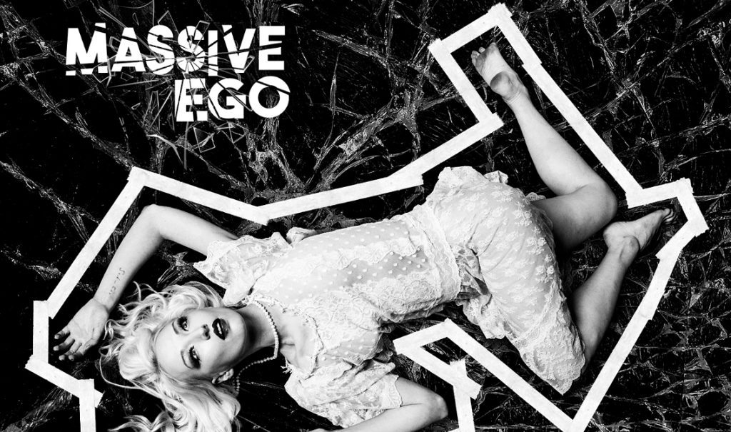 Massive Ego's album'Beautiful Suicide' features Chris Pohl, Gene Serene, Maggie K DeMonde (Scarlet Fantastic) and dark rapper Belzebub