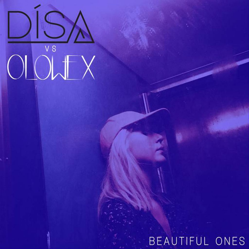 Exclusive preview excellent new single'Beautiful Ones' by Disa vs Olowex (incl. Holeg Spies) on Side-Line !