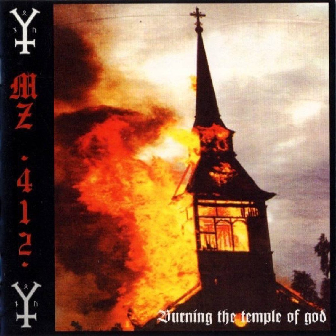 MZ.412 sees re-release classic 'Burning the Temple of God' album on white vinyl (ONLY 206 copies available - get yours here)
