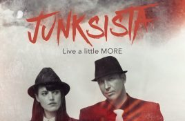 2 brand new EPs by Junksista, including one in a very limited MCD edition + brand new video of 'Drug'