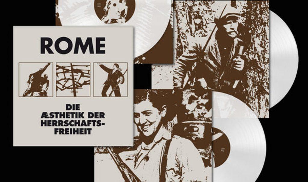 3 vinyl LP reissue for 2011 Rome album'Die Æsthetik der Herrschaftsfreiheit'