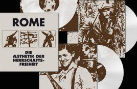 3 vinyl LP reissue for 2011 Rome album 'Die Æsthetik der Herrschaftsfreiheit'