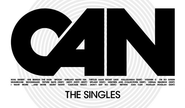 CAN announces 'The Singles', a brand new collection of all of CAN's single releases