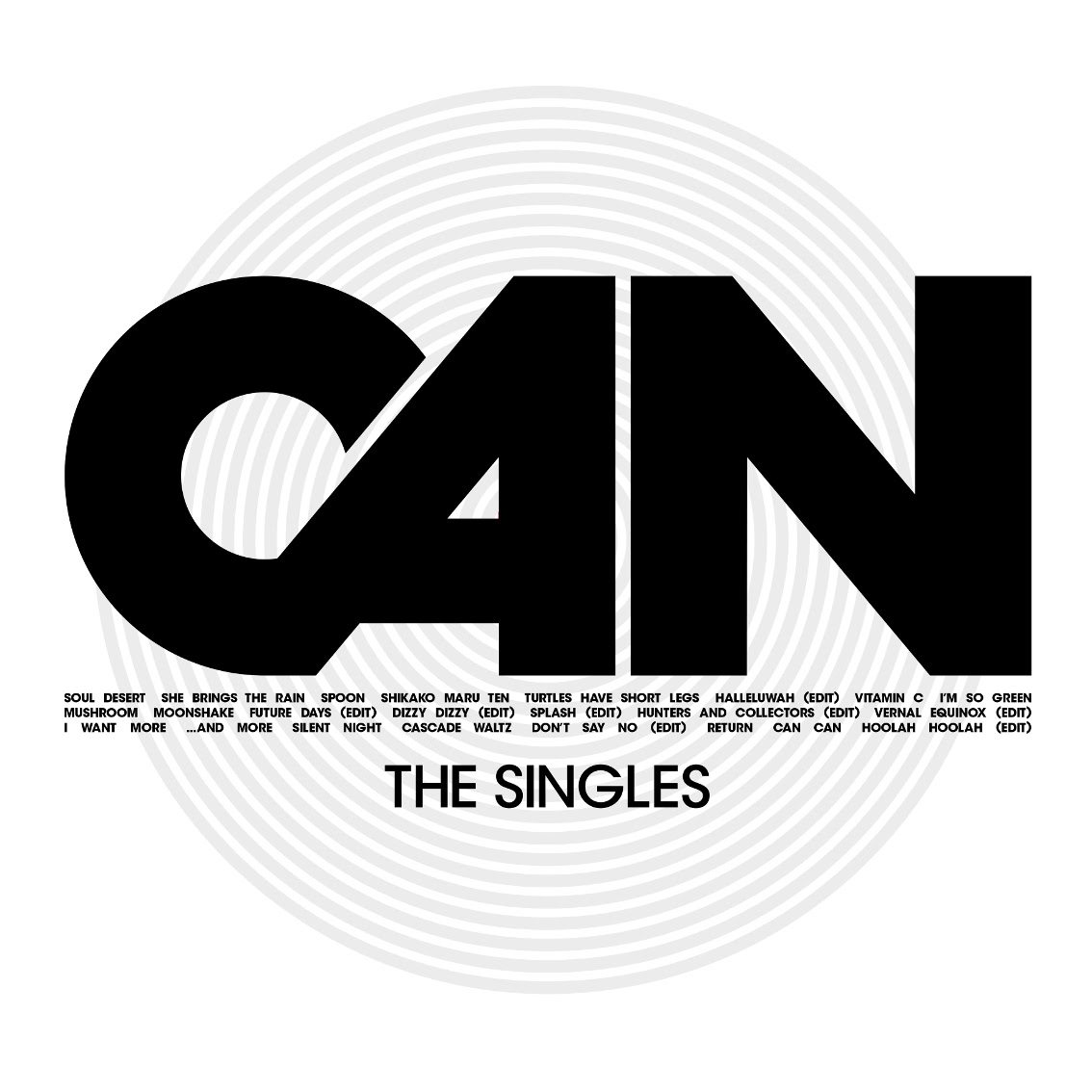 CAN announces'The Singles', a brand new collection of all of CAN's single releases