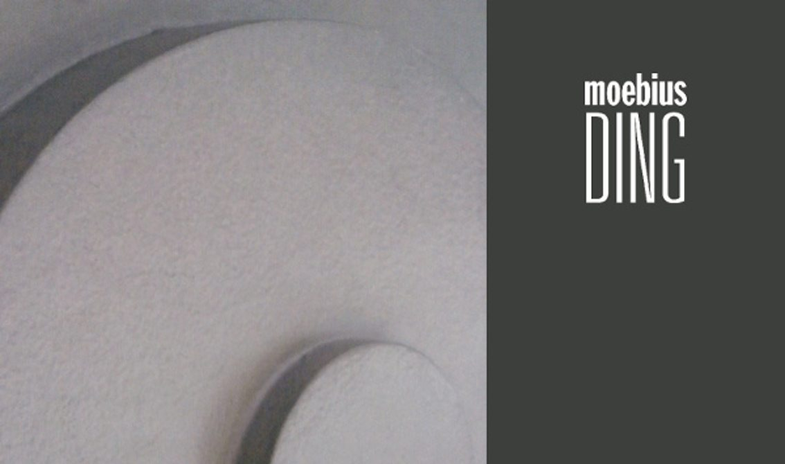 Reissue for Dieter Moebius' 2011 album'Ding' on vinyl for the very first time!