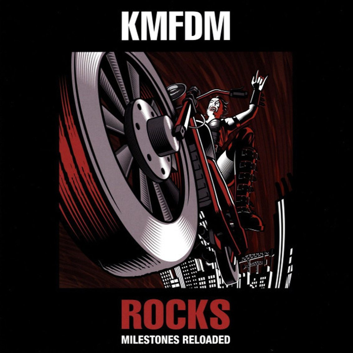 KMFDM leaves Metropolis and sign with earMusic to release'Rocks – Milestones Reloaded' remix album, out on double vinyl as well