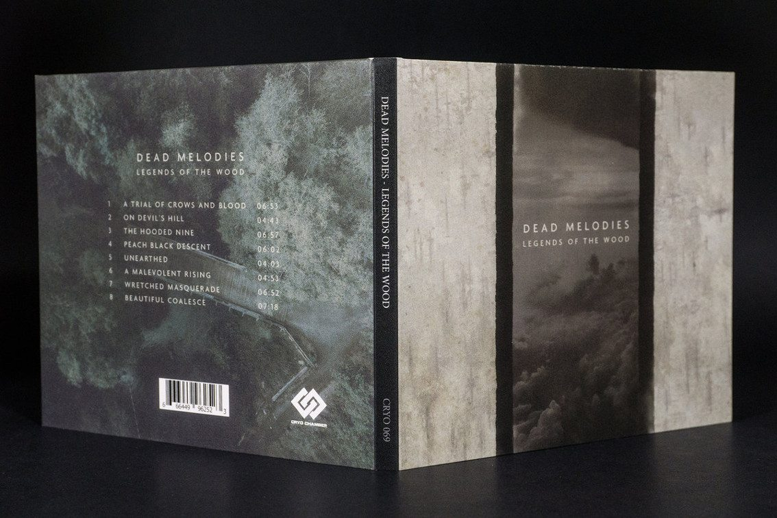 Dark ambient project Dead Melodies debutes on Cryo Chamber with album 'Legends of the Wood'