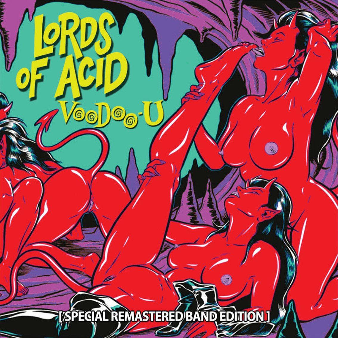 Lords of Acid see'Voodoo-U' reissued with lots of bonus tracks on CD and double vinyl