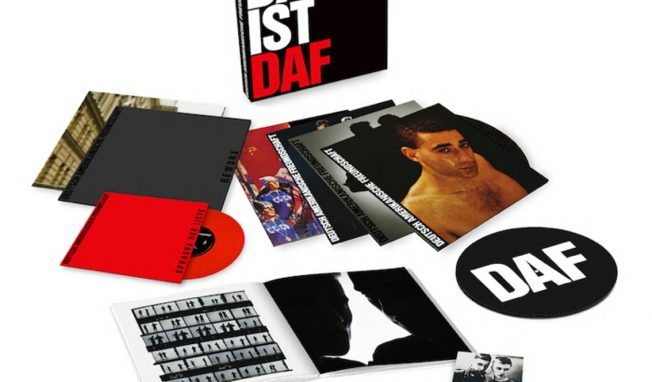 Massive DAF CD & vinyl ltd edition boxsets 'Das its DAF' to be released - including 2 new tracks