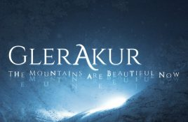Glerakur debuts with 'The Mountains Are Beautiful Now' - out as 2CD hardcover book and coloured vinyl