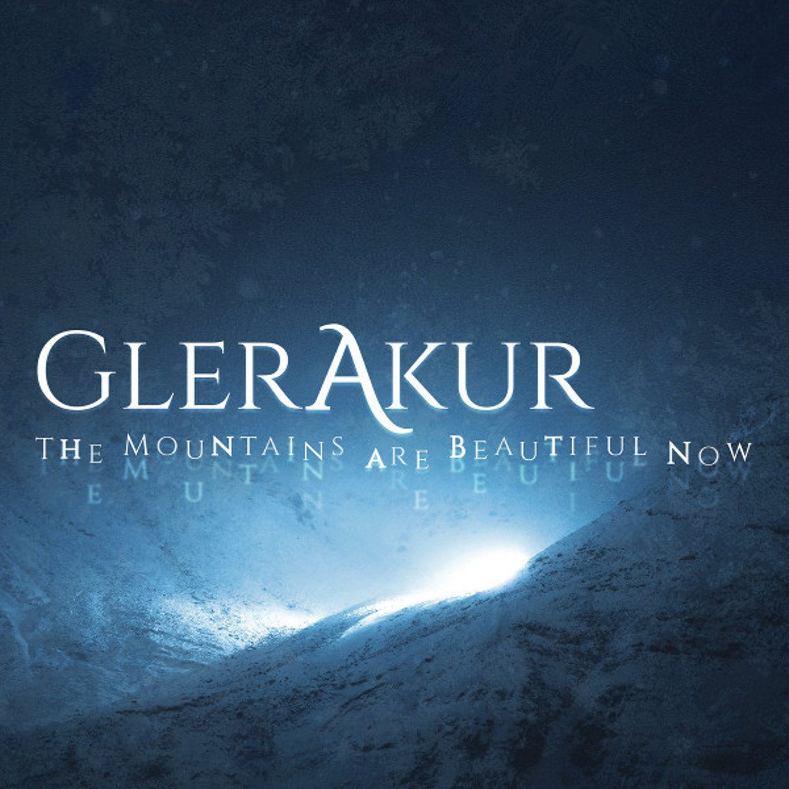 Glerakur debuts with'The Mountains Are Beautiful Now' - out as 2CD hardcover book and coloured vinyl