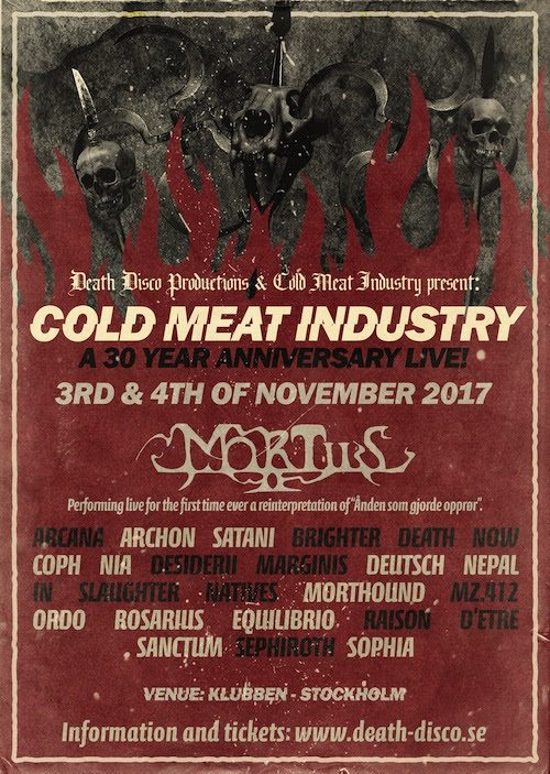 Cold Meat Industry Festival 30 years