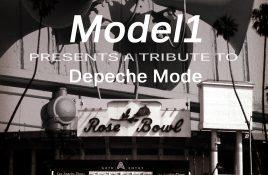 Model 1 presents a tribute to Depeche Mode