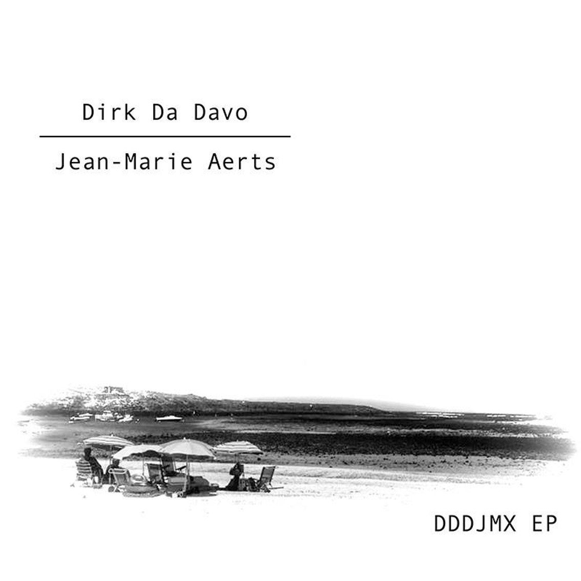 Dirk Da Davo (Neon Judgment) joins up with Belgian cult musician Jean-Marie Aerts (TC Matic) to release'DDD JMX EP'