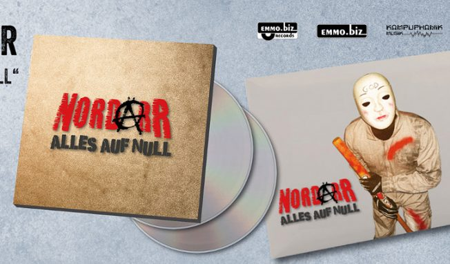 NordarR returns with 'Alles Auf Null' - also available as a 2CD set
