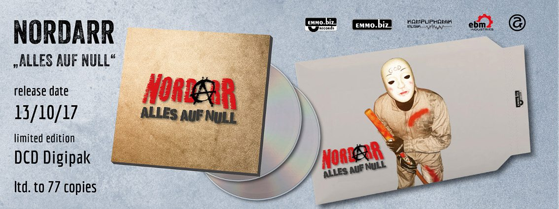 NordarR returns with'Alles Auf Null' - also available as a 2CD set