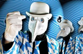 Win 1 of 5 free tickets to see The Residents live in Belgium