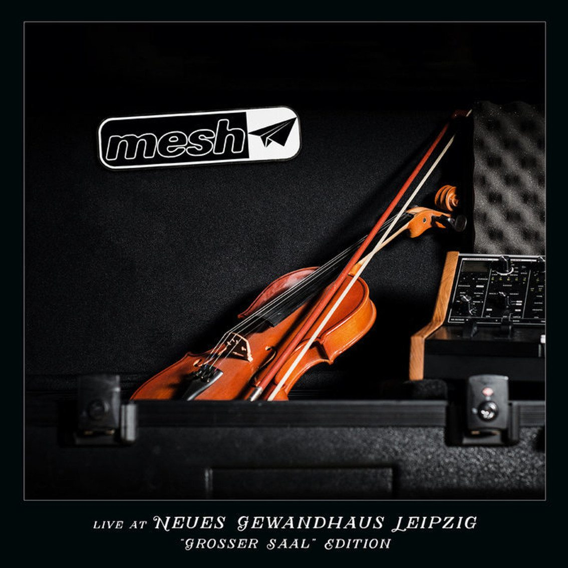 DVD/CD/vinyl Boxset for live Mesh release'Live at Neues Gewandhaus Leipzig' - get it now