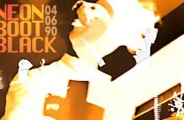 Crimson Boy releases retrospective live recording 'Neon Boot Black - Live 04/06/90'