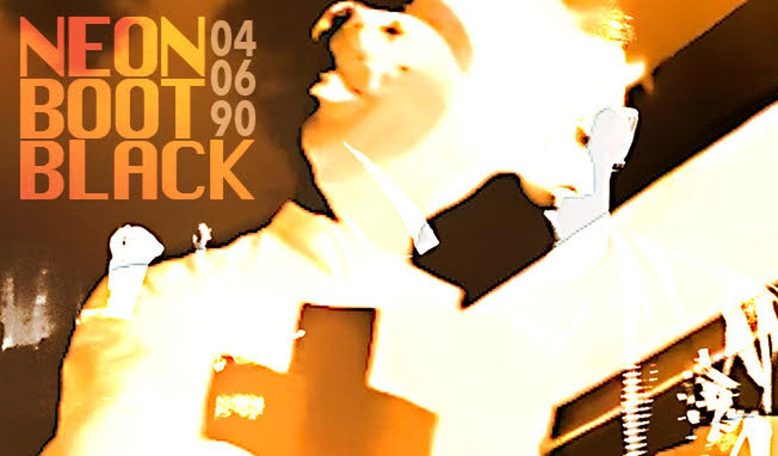 Crimson Boy releases retrospective live recording'Neon Boot Black - Live 04/06/90'