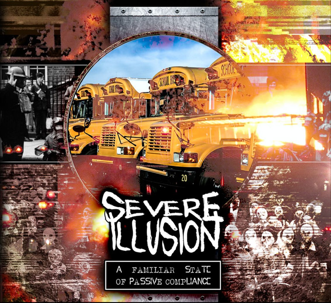 After 4 years of silence the Swedish electro act Severe Illusion returns with EP'A Familiar State of Passive Compliance'