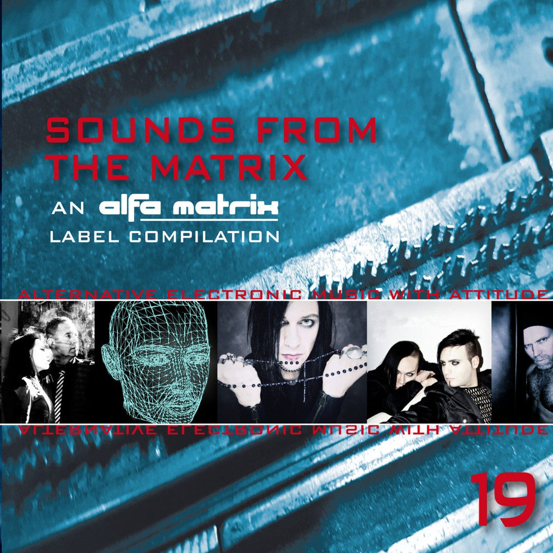 Alfa Matrix launches 19 volume in'Sounds From The Matrix' series on Bandcamp (and on a free CD)